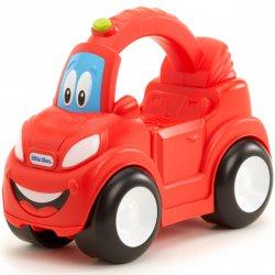 Little Tikes- Pojazd z Uchwytem Rollo Wheels Czerwony Dźwięk