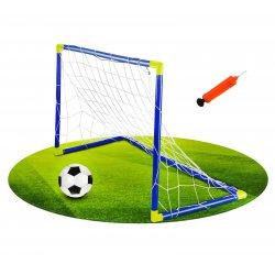 Bramka piłkarska z piłką i pompką Football Sport Woopie