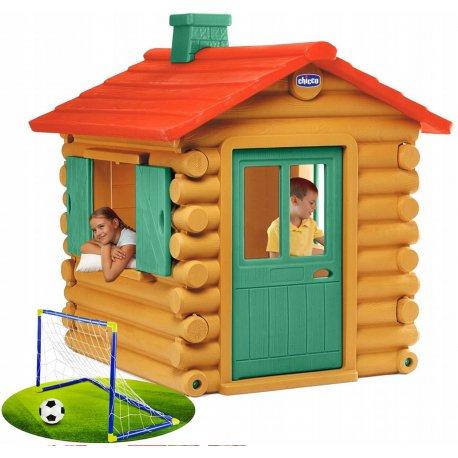 Chicco Domek ogrodowy Chatka myśliwska z kominem