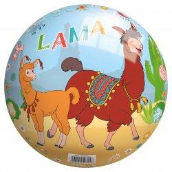 Piłka Winylowa dla dzieci 23 cm perłowa Lama