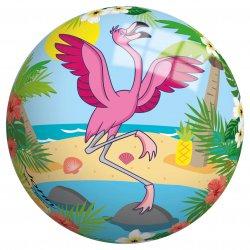 Piłka Winylowa dla dzieci 23 cm perłowa Flaming