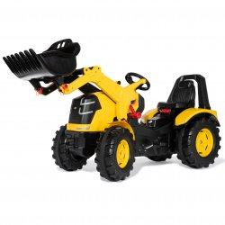 CAT Traktor na Pedały Łyżka Ciche Koła 3-10 Lat do 50kg Rolly Toys