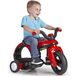 Rowerek Trójkołowy Na Akumulator 6V Pojazd Dźwięk Feber