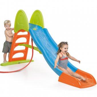 Zjeżdżalnia Ogrodowa Ślizg Wodny 238 cm Dla Dzieci Feber