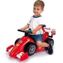 Ferrari Jeździk F2012 Pchacz 2w1 Dla Dzieci Feber