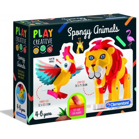 Miękkie Zwierzątka Play Creative Clementoni