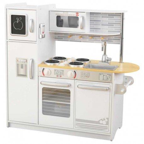 Biała Kuchnia Drewniana Dla Dzieci Kidkraft Uptown Akcesoria Brykaczepl Sklep Z Zabawkami