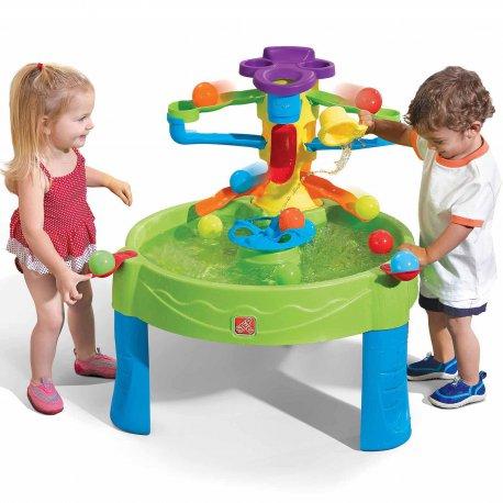 Kolorowy Stół wodny do gry w piłkę 2w1 Busy Ball Step2