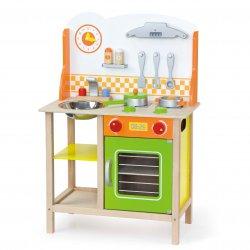 Kuchnia drewniana dla dzieci Kuchenka Fantastic Akcesoria Viga Toys