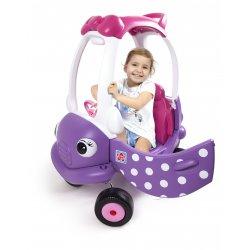 Jeździk dla dzieci Samochód My Miss Coupe Różowy Grow'n Up