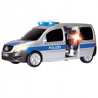Mercedes Dickie Samochód Policyjny Radiowóz Policja Światło Dźwięk + Fotoradar