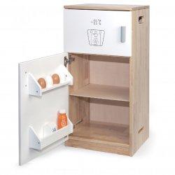 Drewniana Lodówka Zamrażarka dla Dzieci do kuchni Viga Toys