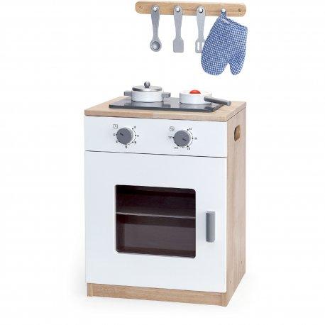 Drewniana Kuchnia Dla Dzieci Z Akcesoriami Viga Toys Brykaczepl Sklep Z Zabawkami