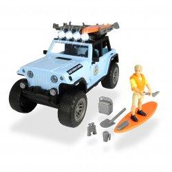 Zestaw Surfera Samochód Jeep Światło Dźwięk Akcesoria Dickie