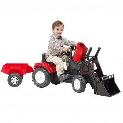 Traktor na pedały z Przyczepą i Łyżką FALK 2-5 Lat do 30kg