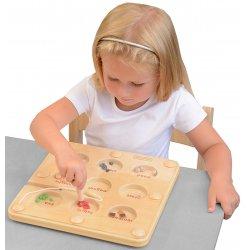 Co Przyciągnie Magnes Edukacyjna Gra Tabliczka Masterkidz