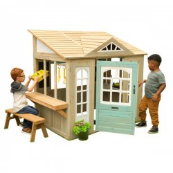 Drewniany domek dla dzieci ogrodowy sklep KidKraft Meadowlane Market