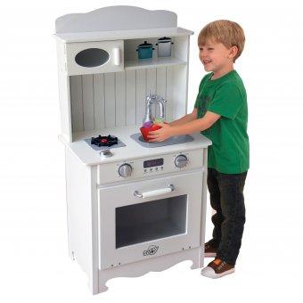 Kuchnia Retro drewniana dla dzieci Sunny