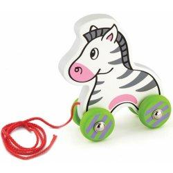 Viga Zestaw do ciągnięcia drewniana zebra