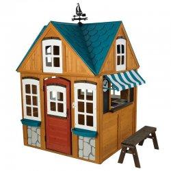 Domek dla dzieci drewniany ogrodowy Kidkraft Coastal Cottage