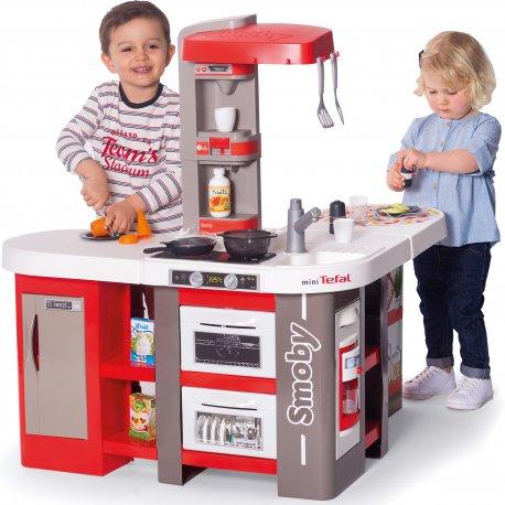 Smoby Duża Kuchnia Dla Dzieci 39 Akcesoriów Studio Bubble Xxl
