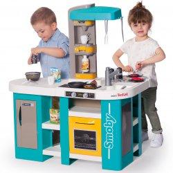 Duża Kuchnia Dla Dzieci 34 Akc. Tefal Studio XL Bubble Smoby