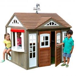 Domek dla dzieci ogrodowy drewniany Kidkraft Country Vista