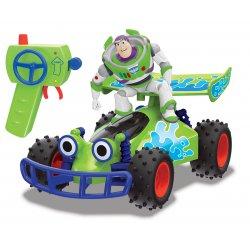 Toy Story Wyścigówka RC Buggy z figurką Buzz Astral 1:24
