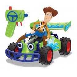 Toy Story Wyścigówka RC Buggy i figurka Chudy 1:24