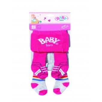BABY BORN Rajstopki dla lalki 2-pak DWA WZORY