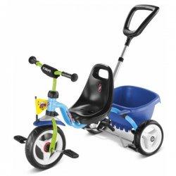 PUKY Trójkołowy rowerek Niebiesko zielony CAT 1 S Ciche koła