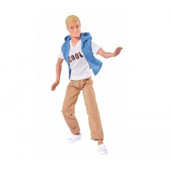 Simba Steffi Lalka Kevin w modnym stroju Blondyn
