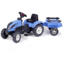 Falk Traktor LANDINI 110 z łyżką i przyczepą 2-5 lat