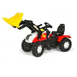 Rolly Toys Traktor na Pedały Farmtrack Steyr 3-8lat + Łyżka Tur