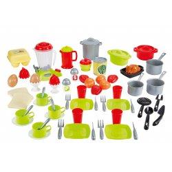 Smoby Ecoiffier Zestaw Obiadowy 36 akcesoriów