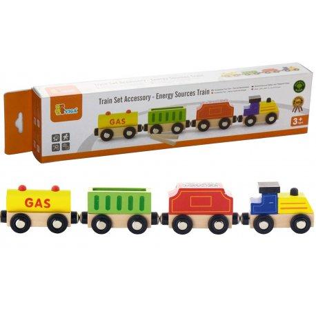 Viga Zestaw akcesoriów do kolejki - pociąg