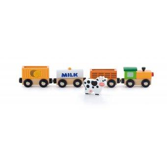 Viga Zestaw akcesoriów do kolejki - pociąg rolniczy