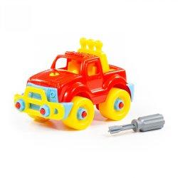 Samochód z śrubokrętem Wader