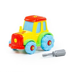 Traktor z śrubokrętem Wader