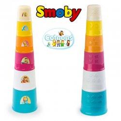 SMOBY Cotoons MAGICZNA Wieża PIRAMIDA 40 cm