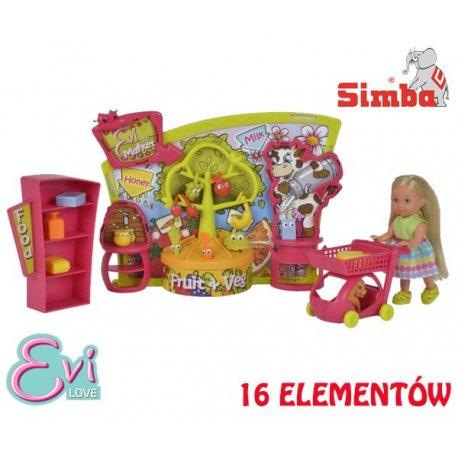 SIMBA Lalka Evi Wizyta w Supermarkecie