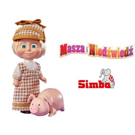 SIMBA Laleczka Masza z Prosiaczkiem