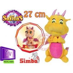 SIMBA Pluszowy Smok Fidusa Safiras 27 cm Reklama TV