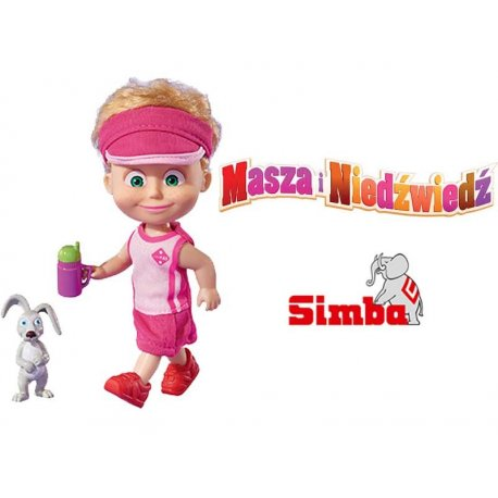 SIMBA Laleczka Masza z Zajączkiem