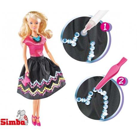 SIMBA Lalka Steffi - Cekinowa Moda