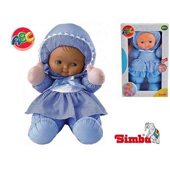 Moja Pierwsza Lalka Szmacianka Niebieska Simba