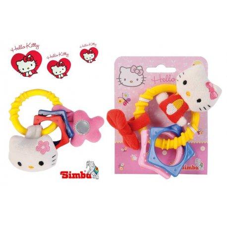 Simba ABC grzechotka Hello Kitty maskotka