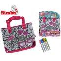 Simba Color Me Mine Modna torba do kolorowania + flamastry GRATIS Reklama TV HIT