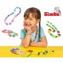 SIMBA Zestaw kolorowych koralików sznureczki Art&Fun