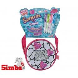 Simba Color me Mine Torba Cekinowa w serduszka + Flamastry do kolorowania Reklama TV